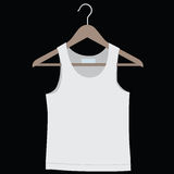 Shirt on a hanger. For clothes. Vector illustration Royalty Free Stock Image