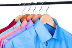 Shirt on a hanger Royalty Free Stock Photography