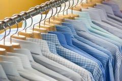 Shirt on hangers Stock Image