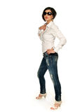 Shirt and jeans Royalty Free Stock Photo