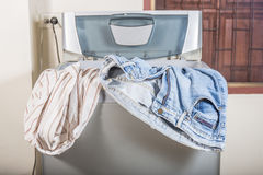 Shirt and jeans Stock Image