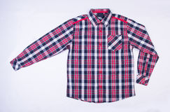 shirt or kids shirt on a background. Royalty Free Stock Image