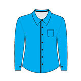 Shirt with long sleeves Stock Photography
