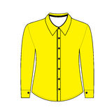 Shirt with long sleeves.  illustration Stock Images