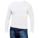 Shirt with long sleeves Stock Image