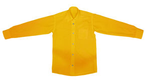 Shirt with long sleeves - Yellow Stock Images