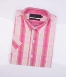 shirt or man dress shirt on background. Royalty Free Stock Photo