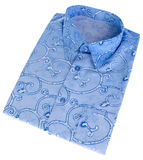 Shirt, man's batik shirt on background. Royalty Free Stock Photography