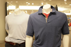 Shirt on a mannequin Stock Photo