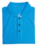 Shirt. mens polo shirt on a background Royalty Free Stock Image
