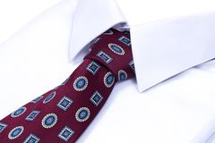 Shirt and neck tie Royalty Free Stock Images