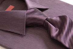 Shirt with necktie Stock Image