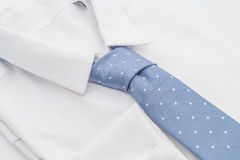Shirt with necktie. On white background Royalty Free Stock Image