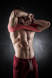 Shirt off Stock Photography