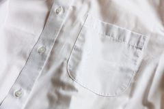 Shirt pocket Stock Photography