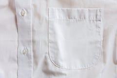 Shirt pocket Stock Photography