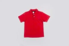 Shirt or polo shirt on white background. Royalty Free Stock Photos