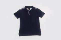 Shirt or polo shirt on white background. Stock Photo