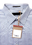 Shirt with price tag Royalty Free Stock Images