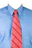 Shirt and red tie Stock Images