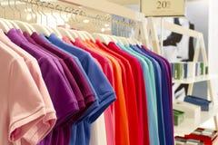 Shirt row Stock Photo