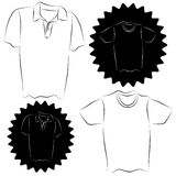 Shirt Set Royalty Free Stock Images