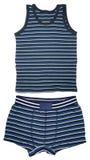 Shirt sleeveless and short underwear Stock Photo