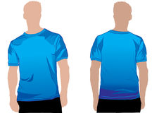 Shirt template Stock Photo