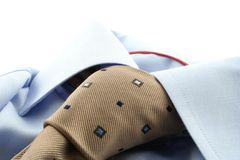 Shirt and Tie. On a white background Royalty Free Stock Image