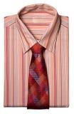 Shirt with a tie Stock Photos