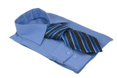 Shirt with tie Royalty Free Stock Photography
