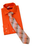 Shirt with tie. Stock Images