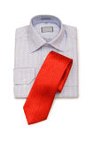 Shirt and tie isolated Stock Image