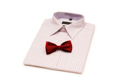 Shirt and tie isolated Stock Photography