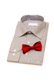 Shirt and tie isolated d. Shirt and tie isolated on the white background Royalty Free Stock Image