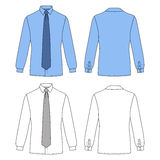 Shirt & tie Royalty Free Stock Images