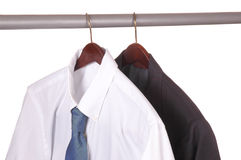 Shirt and Tie and Suit Jacket Royalty Free Stock Images