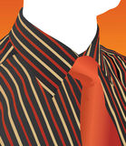 Shirt and tie vector Royalty Free Stock Images