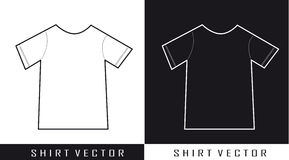 Shirt vector Stock Photos