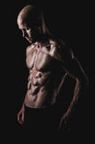 Shirtless and fit male Royalty Free Stock Photography