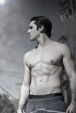 Shirtless guy royalty free stock photo