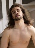 Shirtless Mens Royalty-vrije Stock Foto's