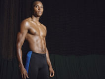 Shirtless Young Athlete Stock Photos