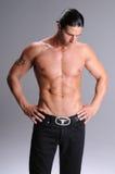 Shirtless young man Royalty Free Stock Photo