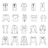 Shirts and blouses Royalty Free Stock Photo