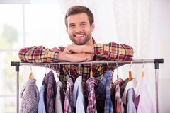 Shirts on every day. Stock Images