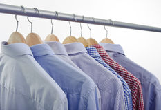 Shirts hanger Royalty Free Stock Photos