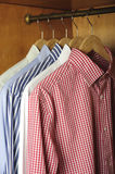 Shirts hanging Royalty Free Stock Photography