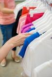 Shirts hanging Royalty Free Stock Image