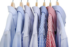 Shirts isolated Stock Photos